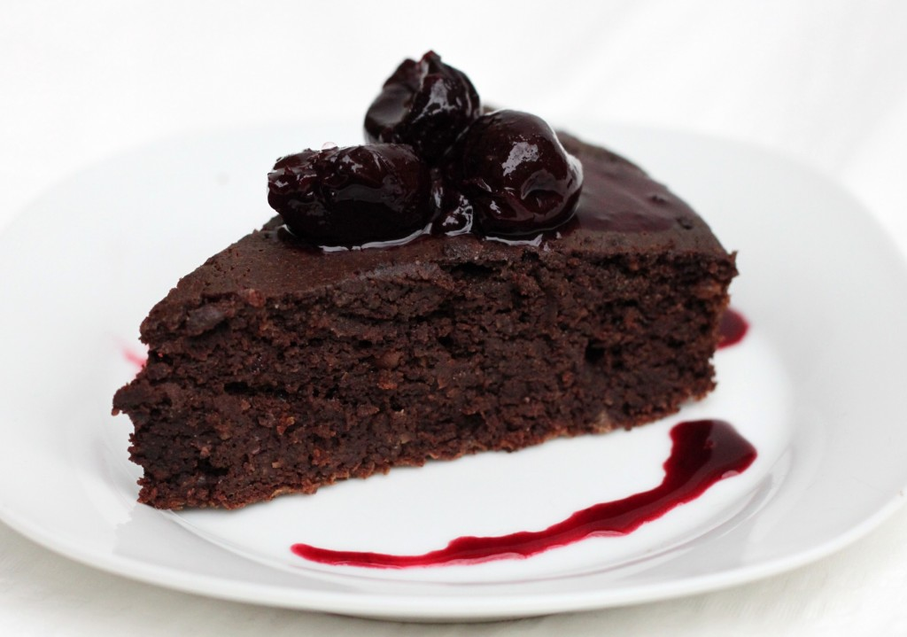 Small Chocolate Frozen Cake