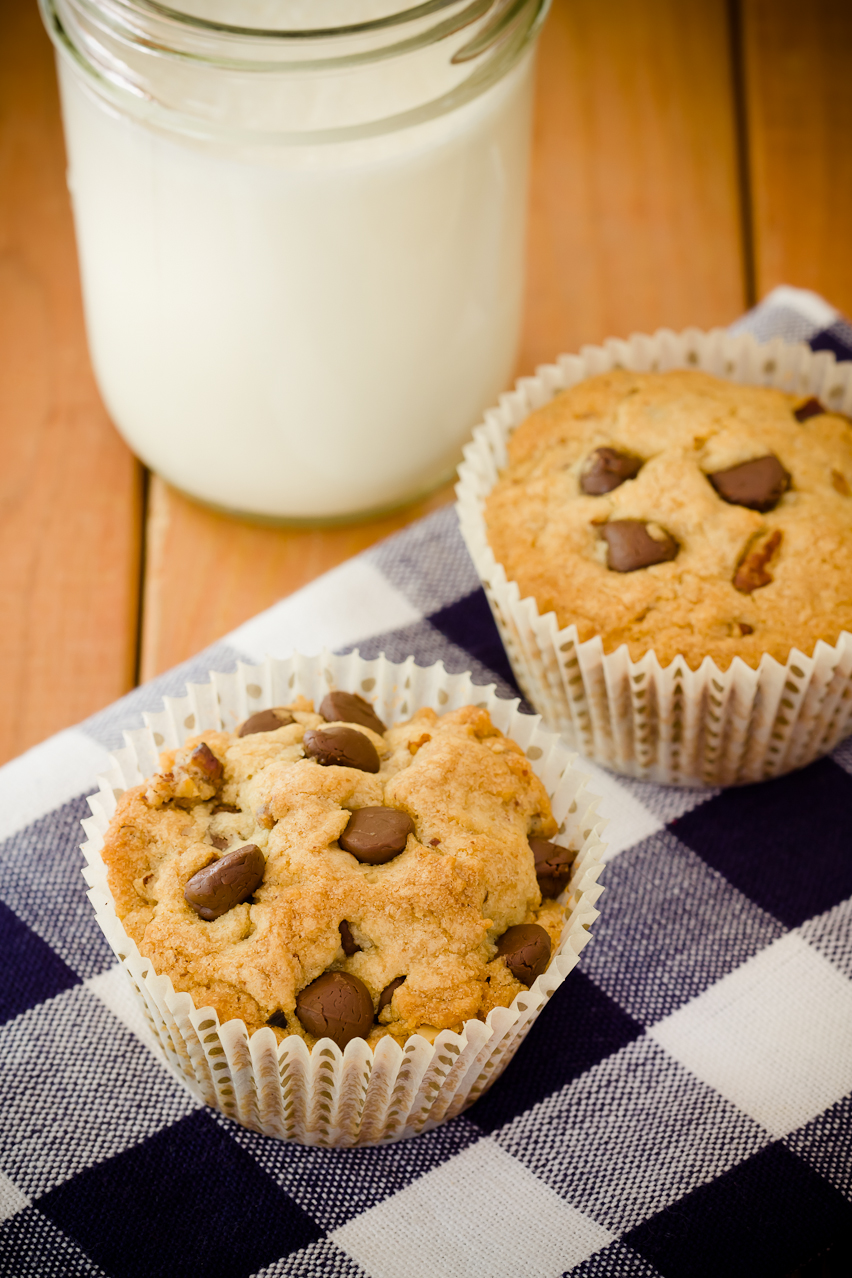 Chocolate Chip Cookie Cupcakes | 52 Kitchen Adventures